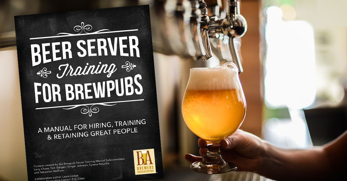 beer server training manual