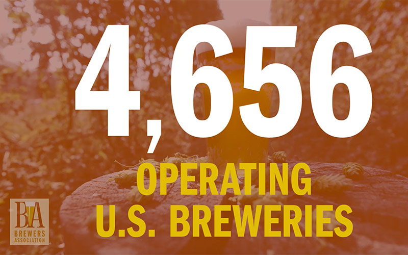 2016 Mid Year Brewery Numbers Brewers Association