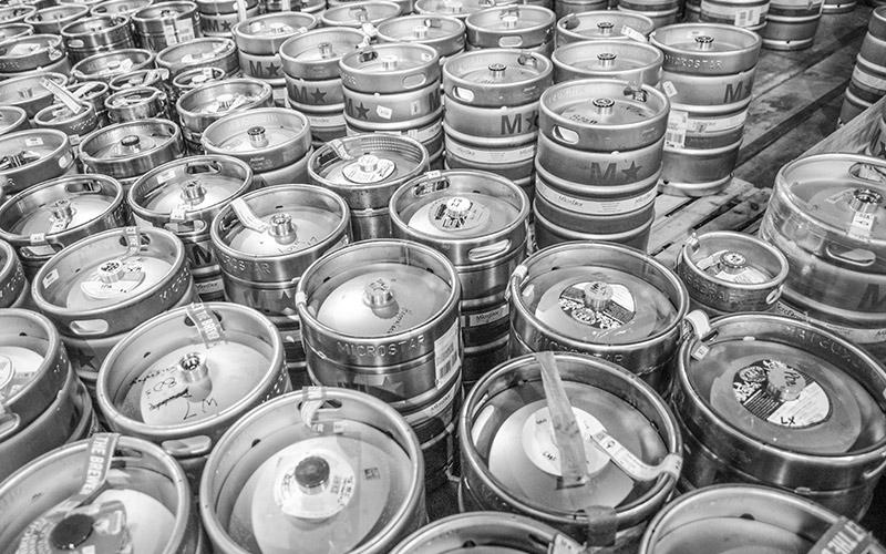 Brewers Association Kegs
