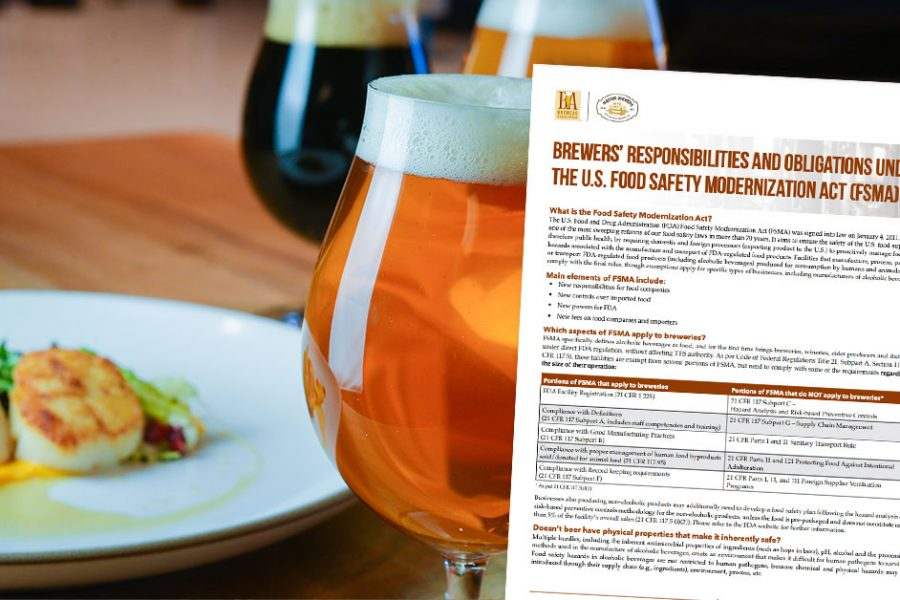 food safety for craft brewers