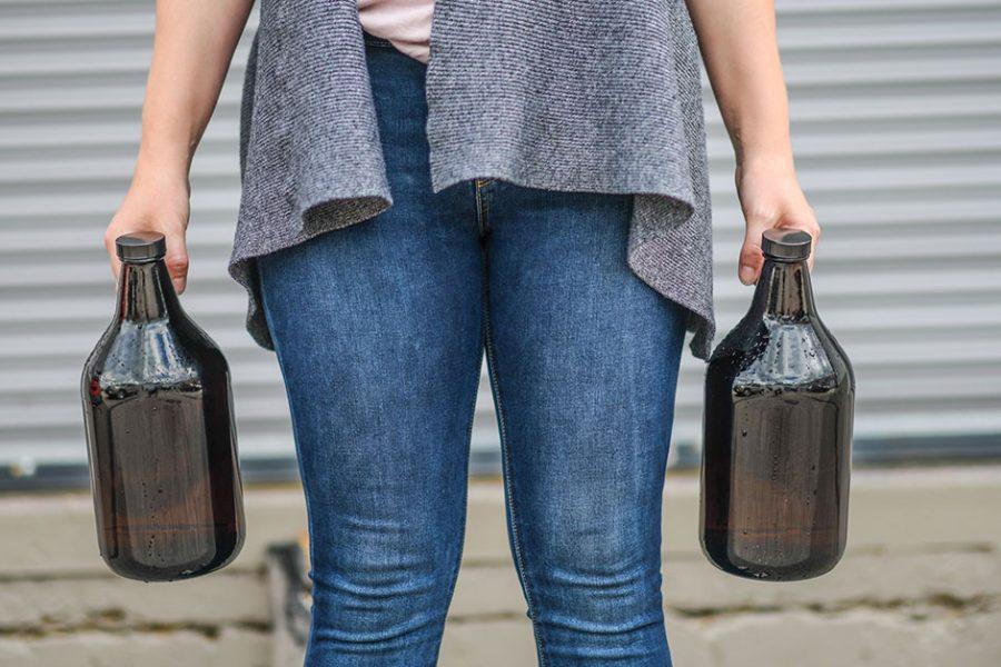 Handling and Filling Beer Growlers