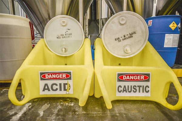 Chemical Safety in the Brewery