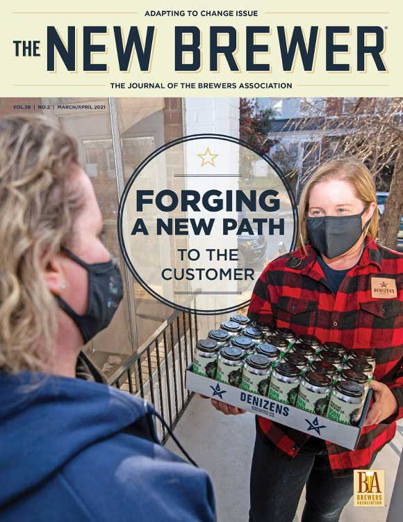 March April 2021 The New Brewer Cover