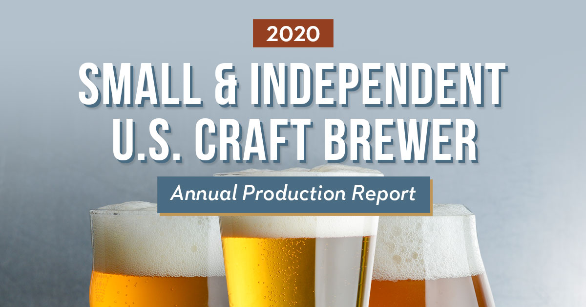 2020 Craft Brewing Industry Production Report  image