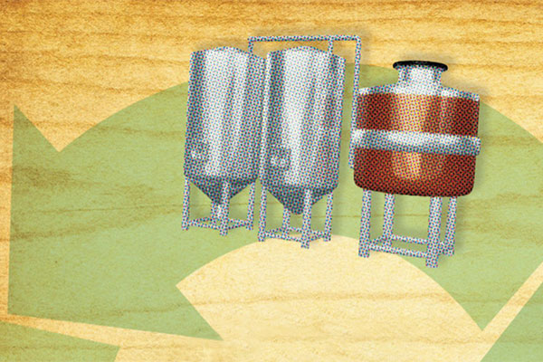 Recycled Brewing Equipment