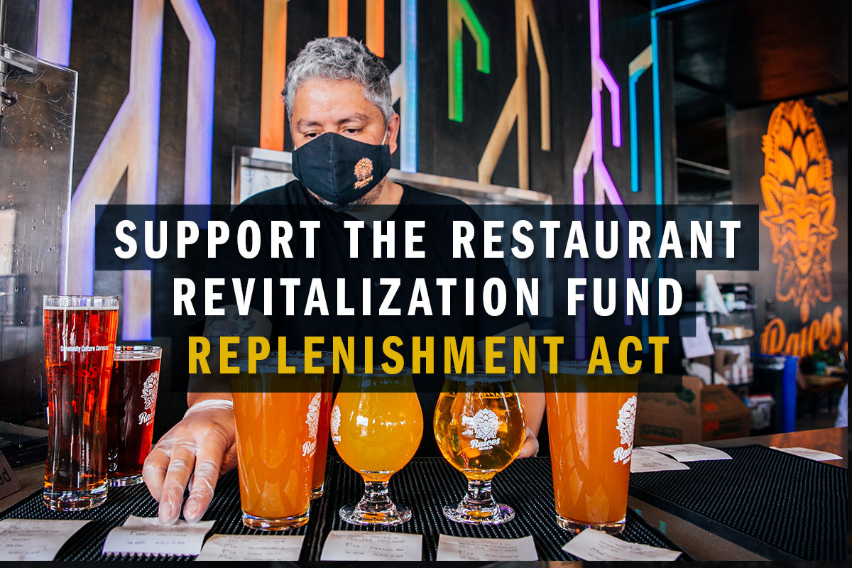 Support the Restaurant Revitalization Fund Replenishment Act