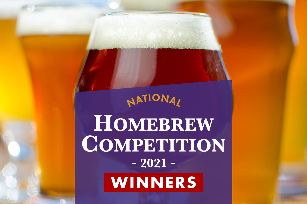 2021 National Homebrew Competition