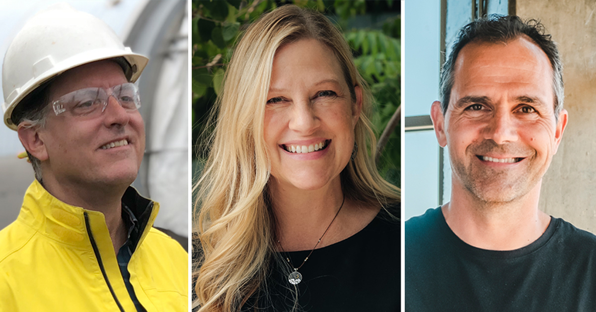 Pamela Brulotte (Icicle Brewing Co.), Steven Pauwels (Boulevard Brewing Co.), and John Mallett (Bell's Brewery, Inc.) receive 2021 Industry Awards